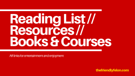 reading list, resources books, and courses